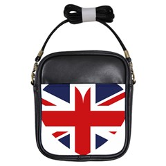 Uk Flag United Kingdom Girls Sling Bags