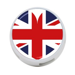 Uk Flag United Kingdom 4 Port Usb Hub (two Sides)