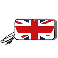 Uk Flag United Kingdom Portable Speaker (black)