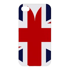 Uk Flag United Kingdom Apple Iphone 4/4s Premium Hardshell Case by Nexatart