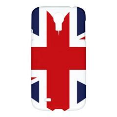 Uk Flag United Kingdom Samsung Galaxy S4 I9500/i9505 Hardshell Case by Nexatart