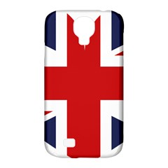 Uk Flag United Kingdom Samsung Galaxy S4 Classic Hardshell Case (pc+silicone)