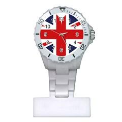 Uk Flag United Kingdom Plastic Nurses Watch