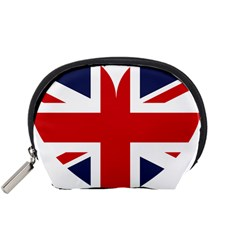 Uk Flag United Kingdom Accessory Pouches (small)