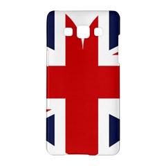 Uk Flag United Kingdom Samsung Galaxy A5 Hardshell Case  by Nexatart