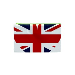 Uk Flag United Kingdom Cosmetic Bag (xs)