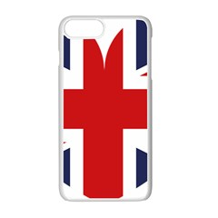 Uk Flag United Kingdom Apple Iphone 7 Plus White Seamless Case by Nexatart