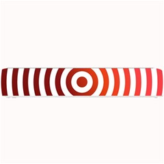 Concentric Red Rings Background Small Bar Mats
