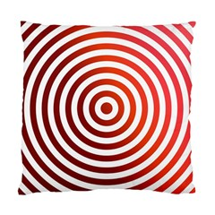 Concentric Red Rings Background Standard Cushion Case (two Sides)