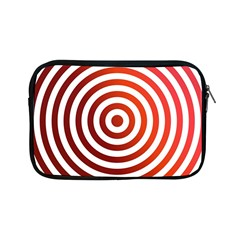 Concentric Red Rings Background Apple Ipad Mini Zipper Cases by Nexatart