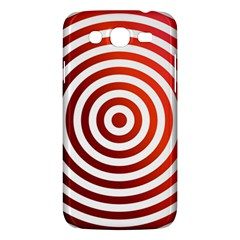 Concentric Red Rings Background Samsung Galaxy Mega 5 8 I9152 Hardshell Case  by Nexatart