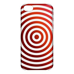 Concentric Red Rings Background Apple Iphone 5c Hardshell Case