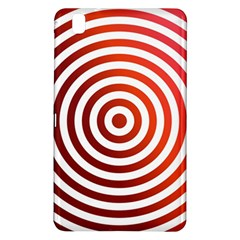 Concentric Red Rings Background Samsung Galaxy Tab Pro 8 4 Hardshell Case by Nexatart
