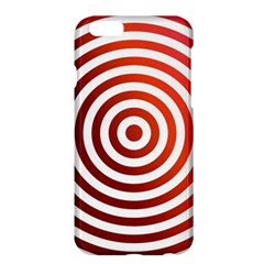 Concentric Red Rings Background Apple Iphone 6 Plus/6s Plus Hardshell Case by Nexatart