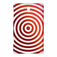 Concentric Red Rings Background Samsung Galaxy Tab S (8 4 ) Hardshell Case