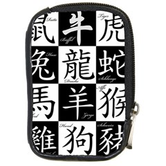 Chinese Signs Of The Zodiac Compact Camera Cases by Nexatart