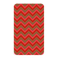 Background Retro Red Zigzag Memory Card Reader