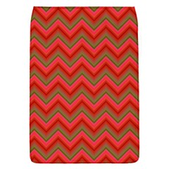 Background Retro Red Zigzag Flap Covers (s)  by Nexatart
