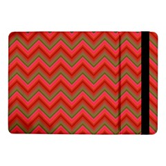 Background Retro Red Zigzag Samsung Galaxy Tab Pro 10 1  Flip Case