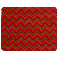 Background Retro Red Zigzag Jigsaw Puzzle Photo Stand (rectangular)