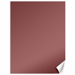 Blush Gold Coppery Pink Solid Color Canvas 36  X 48   by PodArtist