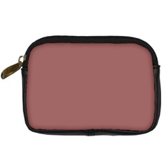 Blush Gold Coppery Pink Solid Color Digital Camera Cases by PodArtist