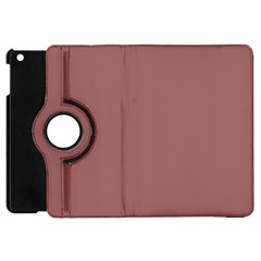Blush Gold Coppery Pink Solid Color Apple Ipad Mini Flip 360 Case by PodArtist