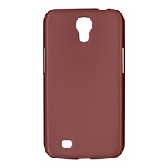 Blush Gold Coppery Pink Solid Color Samsung Galaxy Mega 6 3  I9200 Hardshell Case by PodArtist