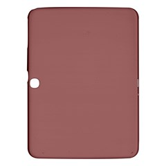 Blush Gold Coppery Pink Solid Color Samsung Galaxy Tab 3 (10 1 ) P5200 Hardshell Case  by PodArtist
