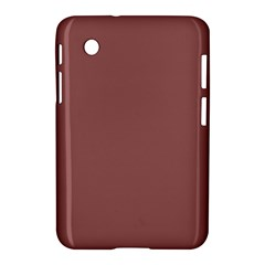 Blush Gold Coppery Pink Solid Color Samsung Galaxy Tab 2 (7 ) P3100 Hardshell Case  by PodArtist