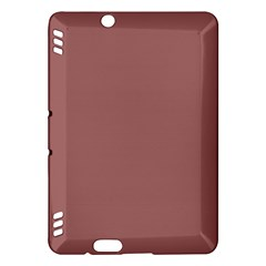 Blush Gold Coppery Pink Solid Color Kindle Fire Hdx Hardshell Case by PodArtist