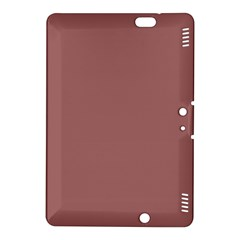 Blush Gold Coppery Pink Solid Color Kindle Fire Hdx 8 9  Hardshell Case by PodArtist