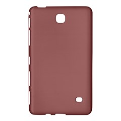 Blush Gold Coppery Pink Solid Color Samsung Galaxy Tab 4 (8 ) Hardshell Case  by PodArtist