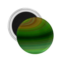 Green Background Elliptical 2 25  Magnets by Nexatart