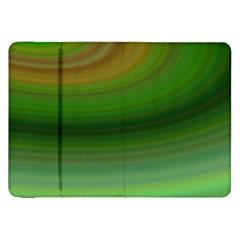Green Background Elliptical Samsung Galaxy Tab 8 9  P7300 Flip Case