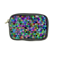 Triangle Tile Mosaic Pattern Coin Purse