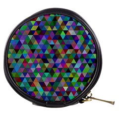 Triangle Tile Mosaic Pattern Mini Makeup Bags