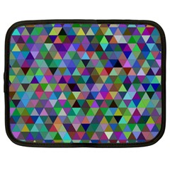 Triangle Tile Mosaic Pattern Netbook Case (xxl)