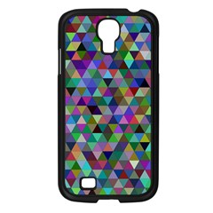 Triangle Tile Mosaic Pattern Samsung Galaxy S4 I9500/ I9505 Case (black) by Nexatart
