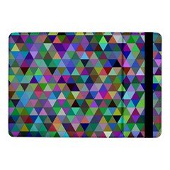Triangle Tile Mosaic Pattern Samsung Galaxy Tab Pro 10 1  Flip Case by Nexatart