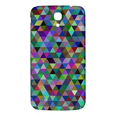Triangle Tile Mosaic Pattern Samsung Galaxy Mega I9200 Hardshell Back Case by Nexatart