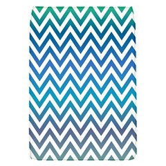 Blue Zig Zag Chevron Classic Pattern Flap Covers (s)