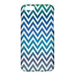 Blue Zig Zag Chevron Classic Pattern Apple Iphone 6 Plus/6s Plus Hardshell Case