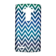 Blue Zig Zag Chevron Classic Pattern Lg G4 Hardshell Case by Nexatart