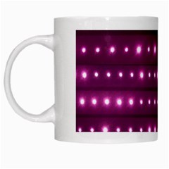 Galaxy Stripes Pattern White Mugs by dflcprints