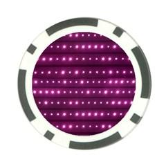 Galaxy Stripes Pattern Poker Chip Card Guard (10 Pack) by dflcprints