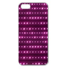 Galaxy Stripes Pattern Apple Seamless Iphone 5 Case (clear) by dflcprints