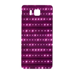 Galaxy Stripes Pattern Samsung Galaxy Alpha Hardshell Back Case by dflcprints