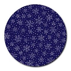 Pattern Circle Multi Color Round Mousepads by Nexatart