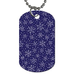 Pattern Circle Multi Color Dog Tag (one Side)